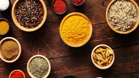 Composition-of-spices-in-bowls