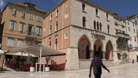 Medieval-building-in-Split-Croatia