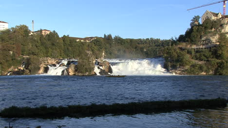 Switzerland-Rhine-Falls-zooms-out