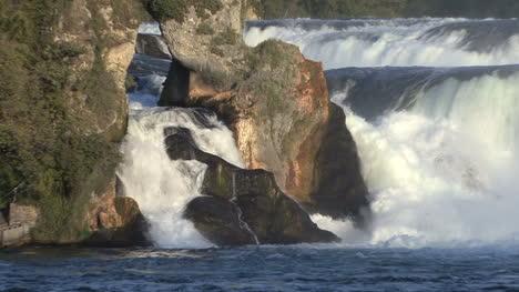 Switzerland-Rhine-Falls-at-rocks