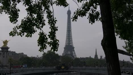 Paris-Eiffel-Tower-framed-in-leaves