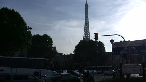 Paris-Eiffel-Tower-in-evening