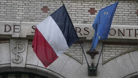 French-&-EU-flags-in-breeze