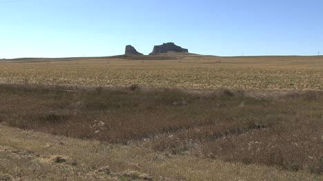 Roca-Distante-Del-Palacio-De-Justicia-De-Nebraska