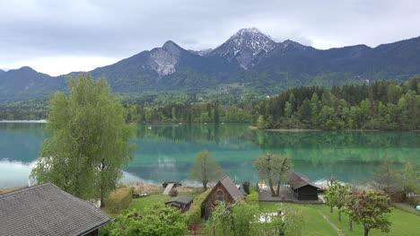 Austria-Faaker-See-Y-Montaña-View
