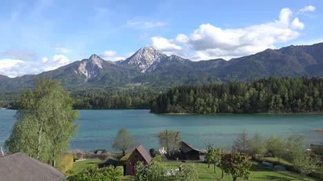 Austria-Hermosa-Vista-Del-Lago-Lapso-De-Tiempo