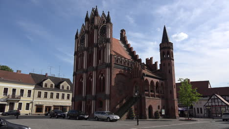 Germany-Tangermunde-historic-Rathaus