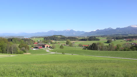 Germany-view-toward-the-Alps-from-Rimsting-zoom-in