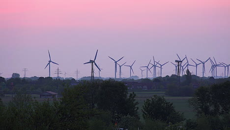Germany-wind-turbines-in-the-early-morning-light