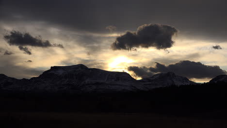 Montana-before-sunset-over-Rocky-Mountains-time-lapse
