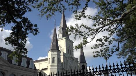 Nueva-Orleans-Deja-Marco-La-Catedral-De-St-Louis
