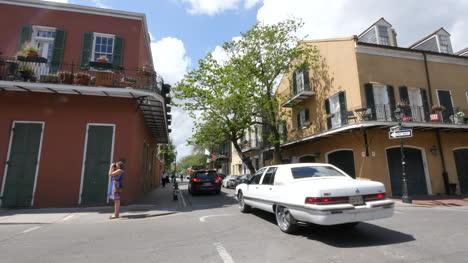 Calle-Lateral-De-Nueva-Orleans-En-La-Ciudad