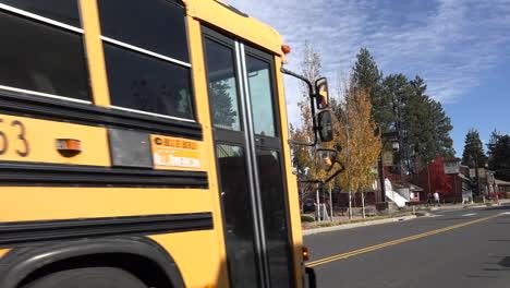 Autobuses-Escolares-De-Oregon-En-Hermanas