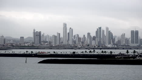 Panama-city-in-the-distance-past-causeways