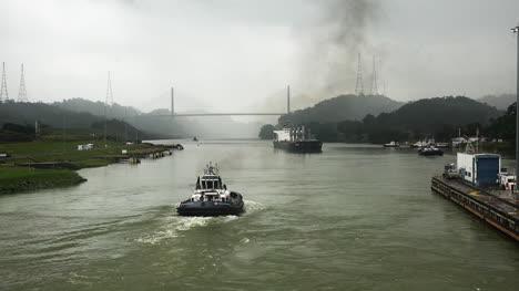 Panam�-Tr�fico-Dejando-Cerraduras-M�s-All�-Del-Puente-Centenario-Panamá-Tráfico-Dejando-Cerraduras-Más-Allá-Del-Puente-Centenario