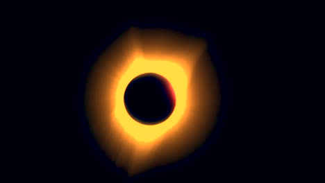 Solar-eclipse-totality-begins-to-end