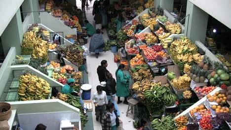 Ecuador-looking-down-at-a-market