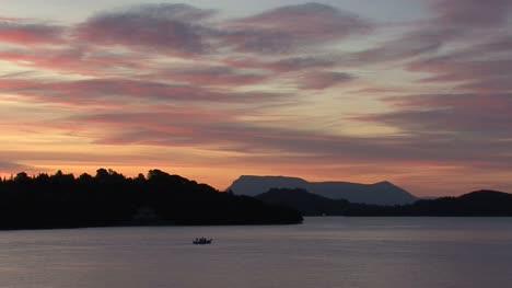 Lefkada-Dawn-with-boat