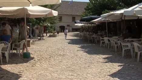 Cyprus-Omodos-village-street