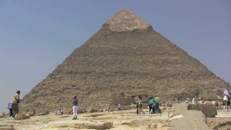Egypt-Pyramid-and-tourists
