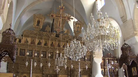 Cyprus-Inside-Omodos-church