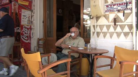 Chios-Drinking-coffee-Prigi-village