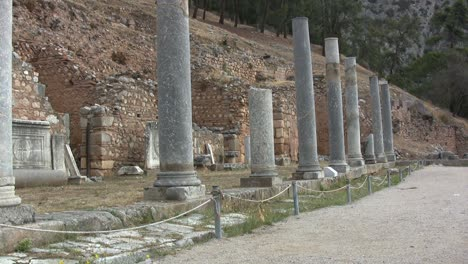 Greek-Antiquities-Row-of-columns-at-Delphi