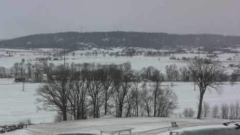 Snowy-landscape-in-Pennsylvania