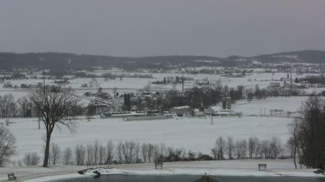 Snow-covered-landscape
