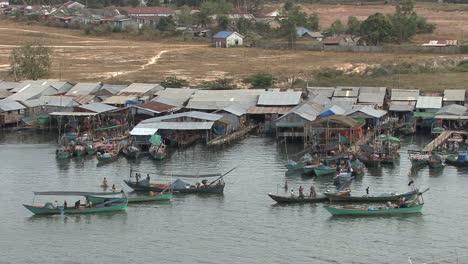 Cambodia-fishing-village