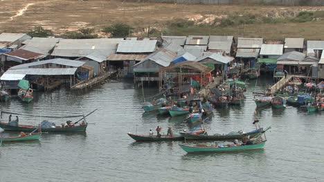 Cambodian-fishing-village