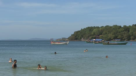 Cambodia-swimmers