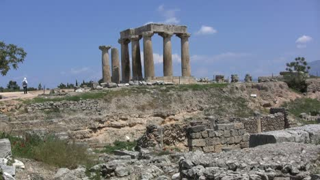 Corinth-Columns-of-the-Temple-of-Apollo
