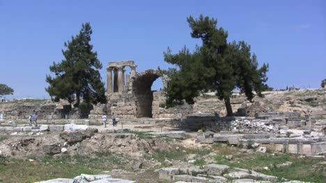 Corinth-ruins