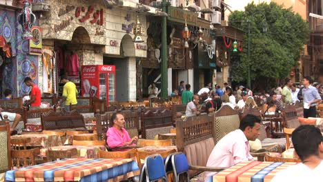Egypt-outdoor-cafe