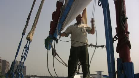 Egypt-boatman-on-the-Nile