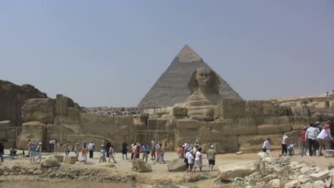 Egipto-Gran-Pirámide-Y-Esfinge