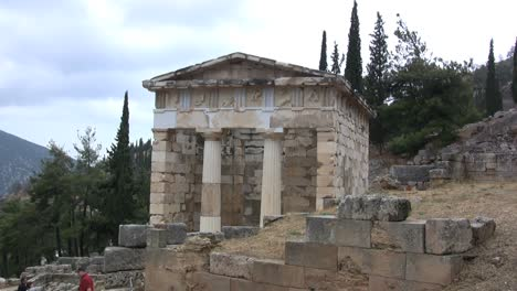 Greece-Delphi-treasury