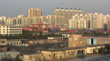 Guangzhou-docks-and-buildings
