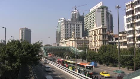 Guangzhou-traffic-&-buildings