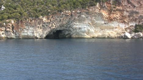 Lefkada-grotto-from-a-boat