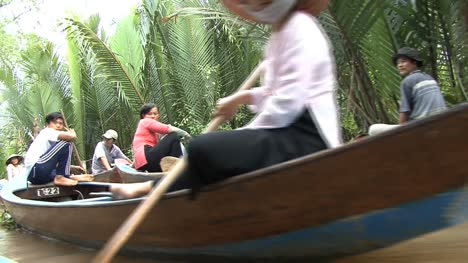 People-in-canoes-in-the-Mekong-Delta