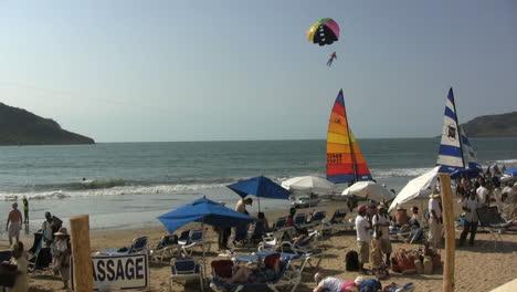 Mexico-Mazatlan-beach-with-toy-parachutes