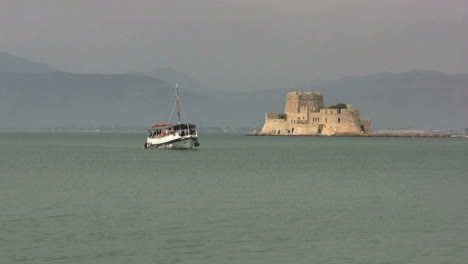 Nafplion-Greece-harbor-with-a-small-fort