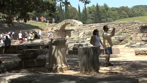 Olympia-people-in-ruins