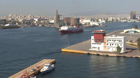 Piraeus-Greece-ship-in-harbor