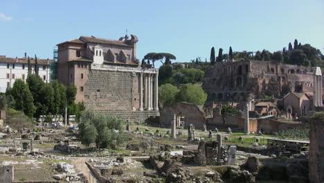 Rome-Forum-view