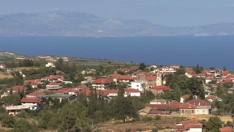 Grecia-Vista-Hacia-El-Golfo-De-Corinto