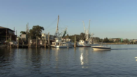 Tarpon-Springs-with-several-boats