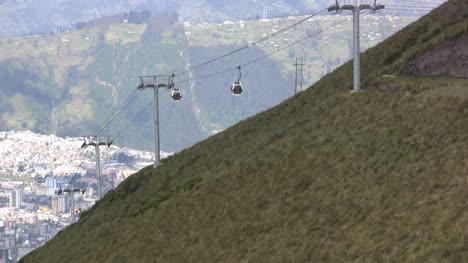 Cable-car-on-a-mountain-in-Ecuador